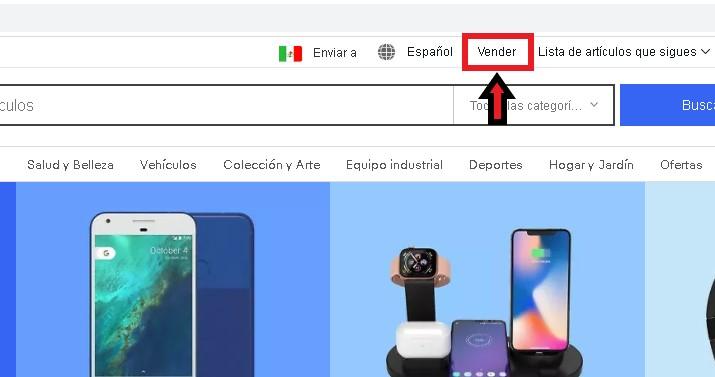 ¿Cómo vender en eBay desde México?