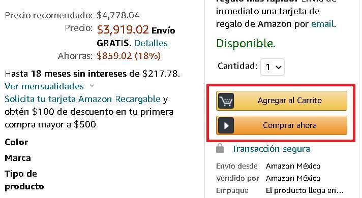¿Cómo funcionan los meses sin intereses en Amazon?