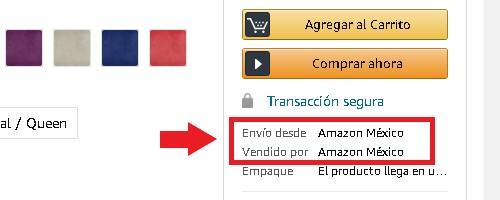 Comprar en Amazon desde México: paso a paso