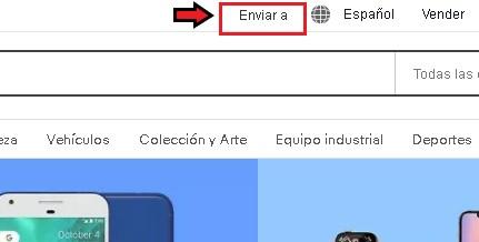 cómo cambiar a ebay en México