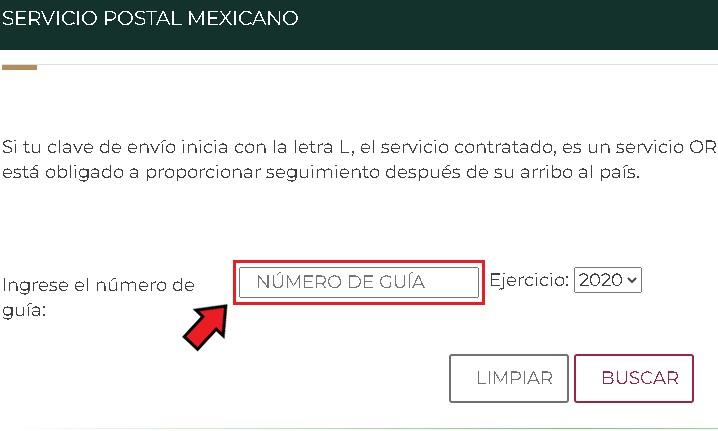 Rastrear un pedido de AliExpress con Servicio Postal Mexicano
