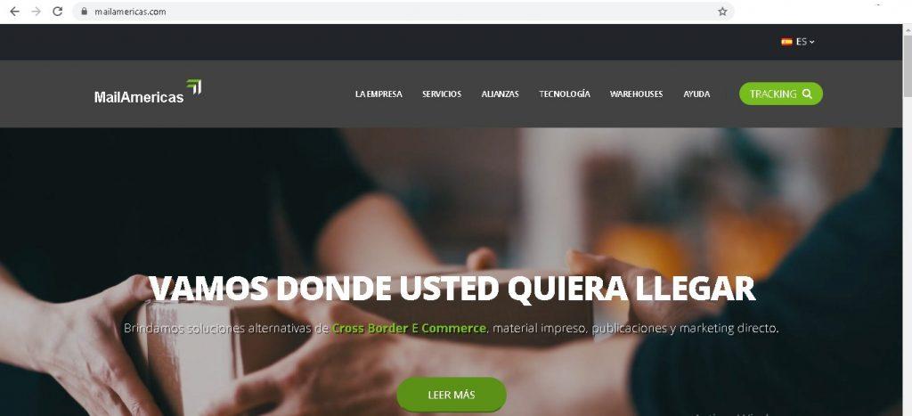 Rastrear un pedido de AliExpress en México con Mail Americas