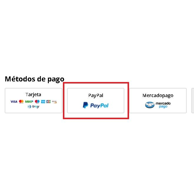 PayPal como método de pago en AliExpress