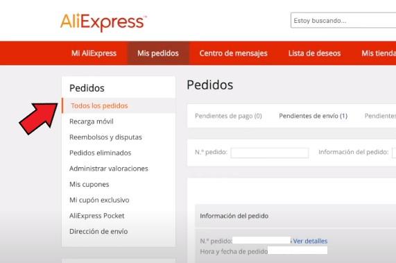 Cómo cancelar un pedido de AliExpress pagado