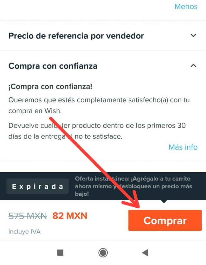Pagar compras de Wish en Oxxo desde México