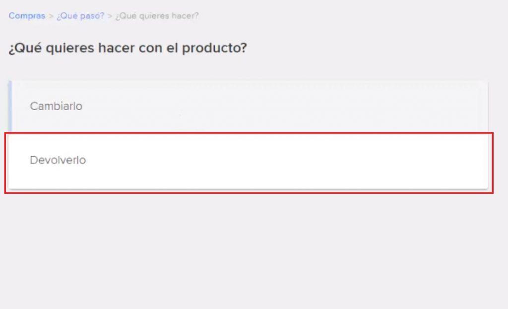 Devolver o cambiar un producto en Mercado Libre México