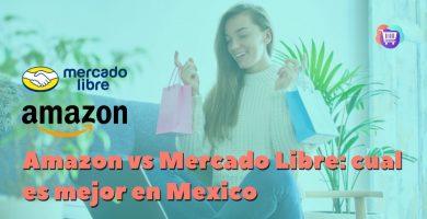 ¿Qué es mejor comprar en Amazon o Mercado Libre?