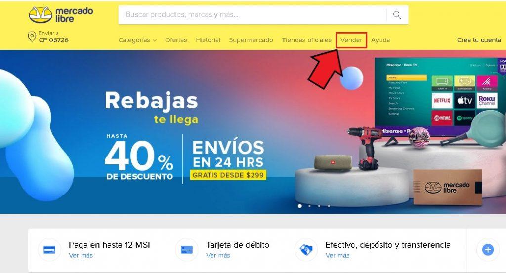 Cómo vender por Mercado Libre México
