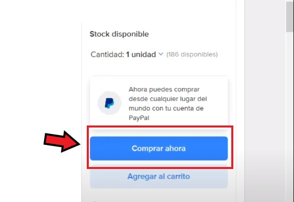 Comprar en Mercado Libre México con PayPal.