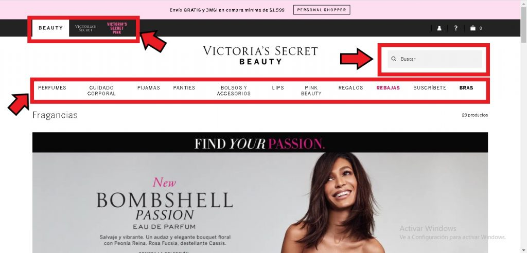 Comprar en Victoria Secret desde México