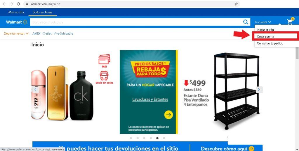 Comprar en Walmart en línea