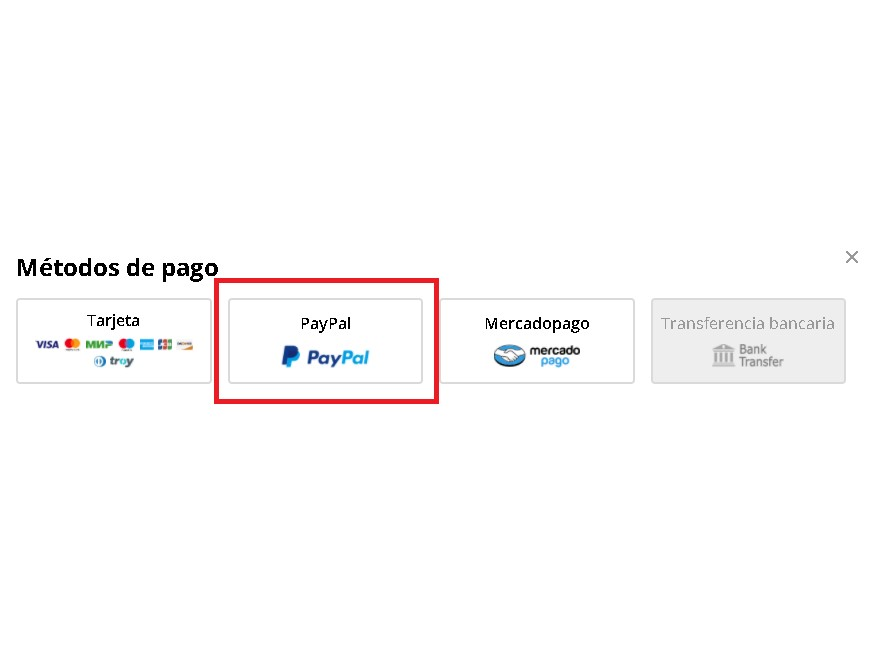 Métodos de pago AliExpress: Pagar en AliExpress con PayPal
