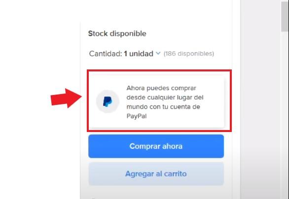 Pagar con PayPal en Mercado Libre México